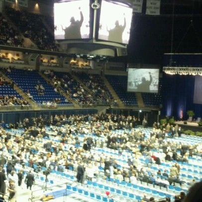 Photo taken at Bryce Jordan Center by Nicole F. on 1/26/2012
