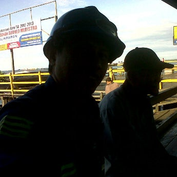 Photo taken at Pelabuhan speedboat kampung baru by Ilham K. on 5/1/2012