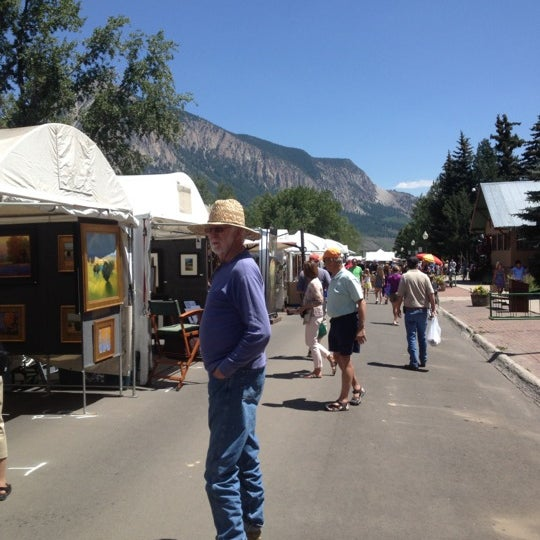Photo taken at Crested Butte, CO by Laurene F. on 8/4/2012