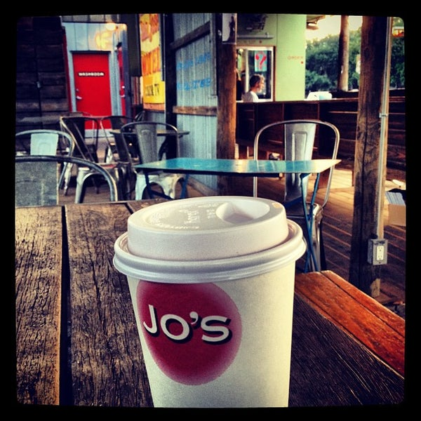 Photo taken at Jo's Coffee by Greg N. on 8/11/2012