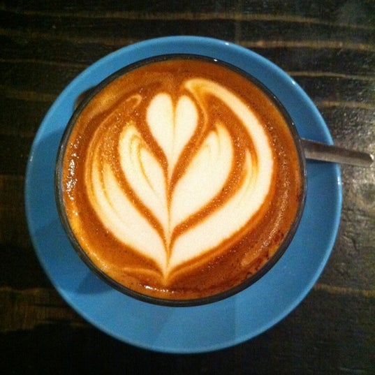 Photo taken at Flat White by Catherine C. on 5/14/2012