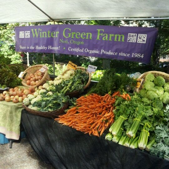 Photo taken at Portland Farmer's Market at PSU by Garry W. on 9/10/2011