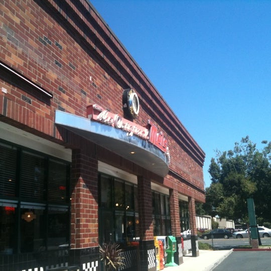 Photo taken at The Original Mel's Diner by Katie B. on 8/11/2011