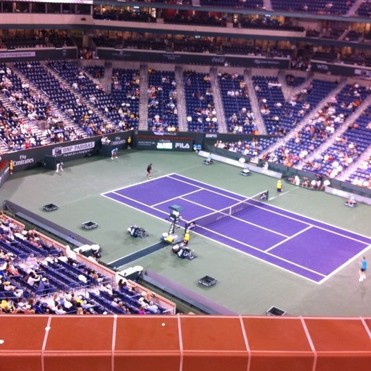 Photo taken at Indian Wells Tennis Garden by Zachary Adam C. on 3/14/2011
