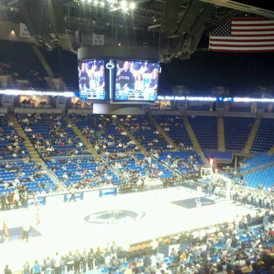 Photo taken at Bryce Jordan Center by Patti W. on 12/8/2011