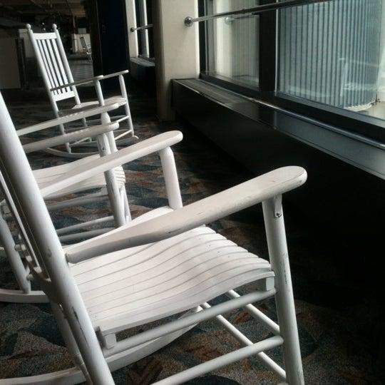Photo taken at Portland International Jetport (PWM) by Rebecca B. on 5/14/2012