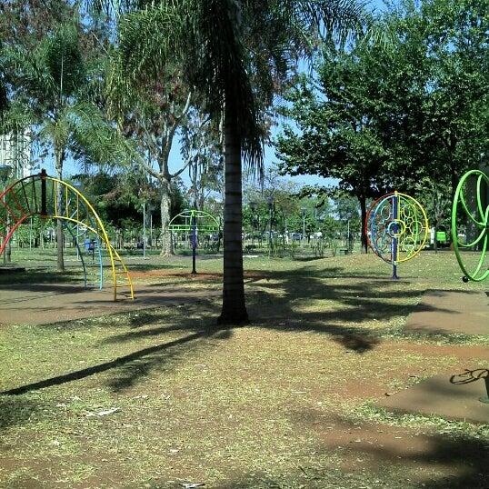 Photo taken at Parque Ecológico Maurilio Biagi by Mariane S. on 8/29/2012