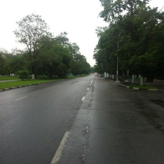 Photo taken at Улица Дмитрия Ульянова by Ярослав В. on 6/24/2012
