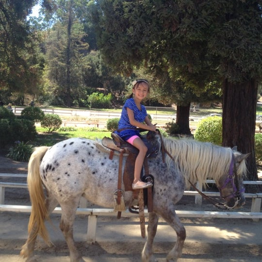 Photo taken at Griffith Park Pony Rides by Emily C. on 9/1/2012
