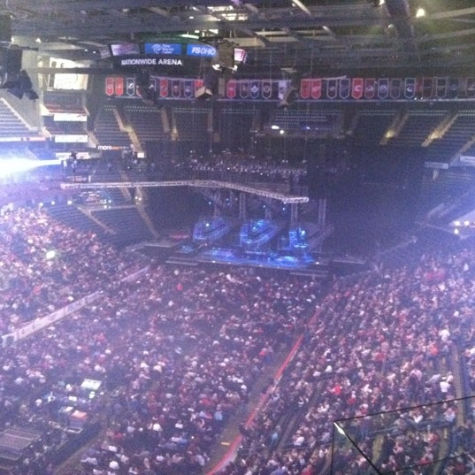 Photo taken at Nationwide Arena by Kara M. on 12/19/2011