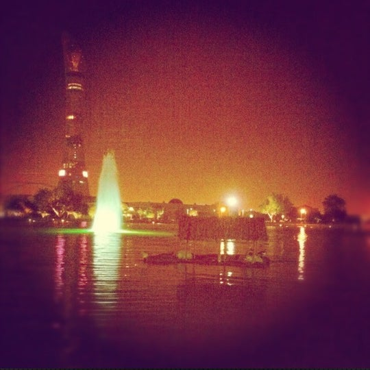 Photo taken at Aspire Park by Aisha -. on 7/11/2012
