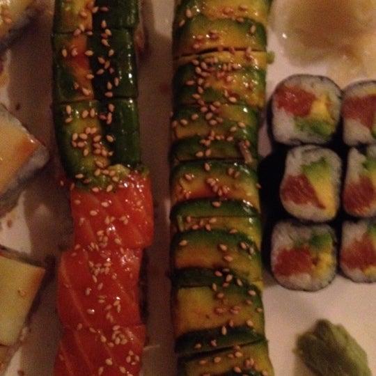 Photo taken at Sushi Lounge by Jon S. on 5/31/2012