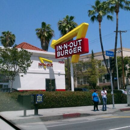 Photo taken at In-N-Out Burger by Marney H. on 4/29/2012