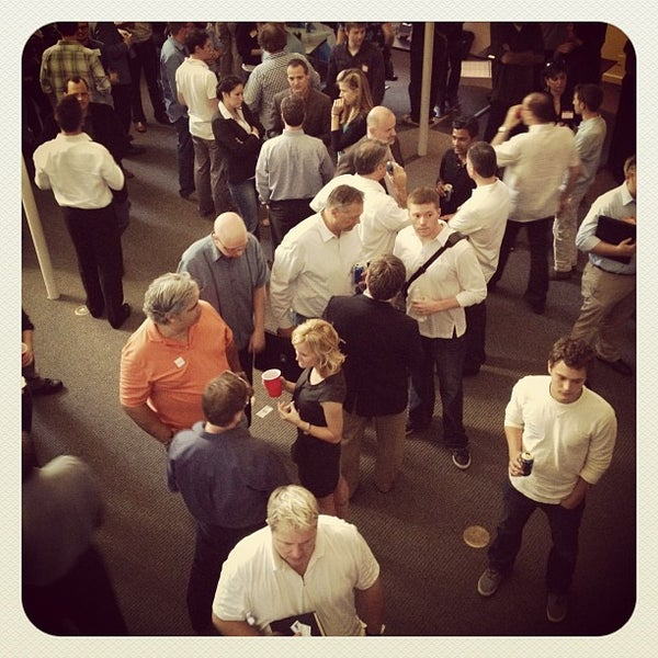 Photo taken at Tech Wildcatters (The Tech Church) by John P. on 5/18/2012