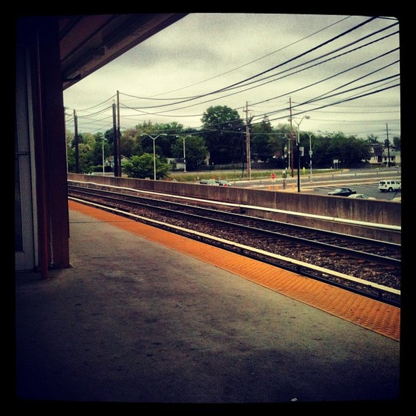 Photo taken at PATCO: Ashland Station by Jordan M. on 5/6/2012