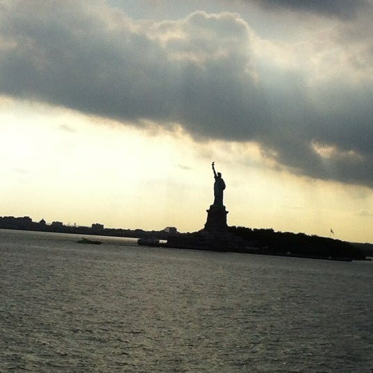 Photo taken at Staten Island Ferry Boat - Guy V. Molinari by Ajit D. on 7/31/2012