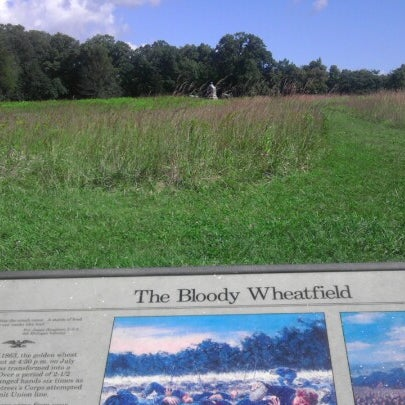 Photo taken at Wheatfield, Gettysburg Battlefield by Gordon W. on 9/9/2012