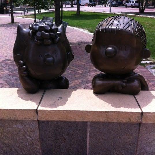Photo taken at Landmark Plaza by Melanie on 7/6/2012
