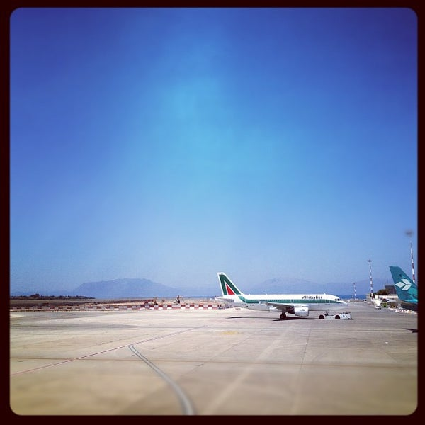 Photo taken at Palermo Airport (PMO) by Martin B. on 7/31/2012