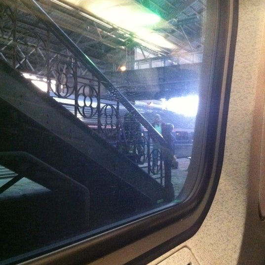 Photo taken at Amtrak: Harrisburg Transportation Center (HAR) by Elizabeth M. on 4/25/2012
