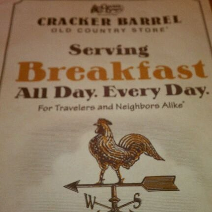 Photo taken at Cracker Barrel Old Country Store by Shannon H. on 6/5/2012