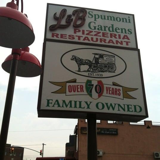 Photo taken at L&B Spumoni Gardens by John P. on 6/22/2012
