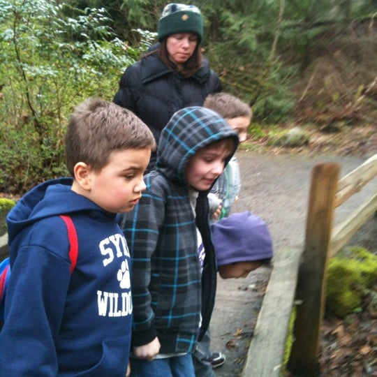 Photo taken at Carkeek Park by Chik Q. on 3/11/2012
