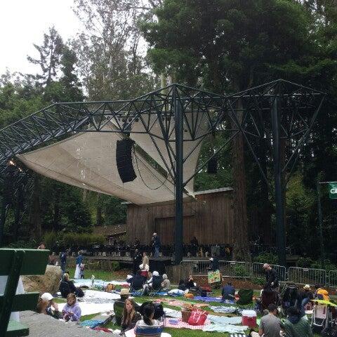 Photo taken at Sigmund Stern Grove by Joseph T. on 7/8/2012