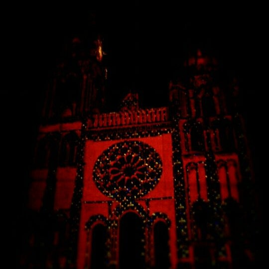 Photo taken at Cathedral Basilica of Our Lady by I. W. on 6/30/2012