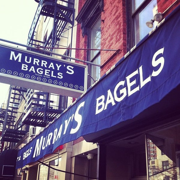 Photo taken at Murray's Bagels by Andy S. on 2/5/2012