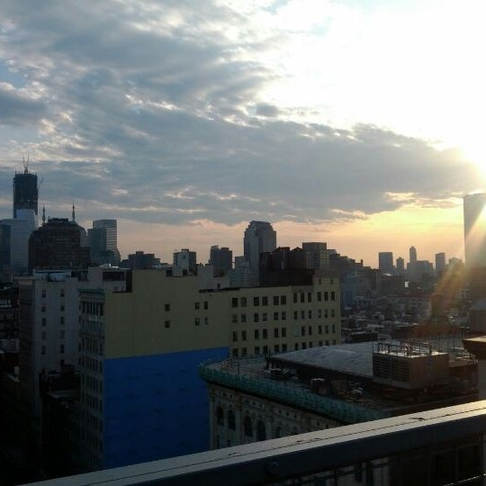 Photo taken at Meetup HQ Roof Deck by Norm R. on 3/28/2012