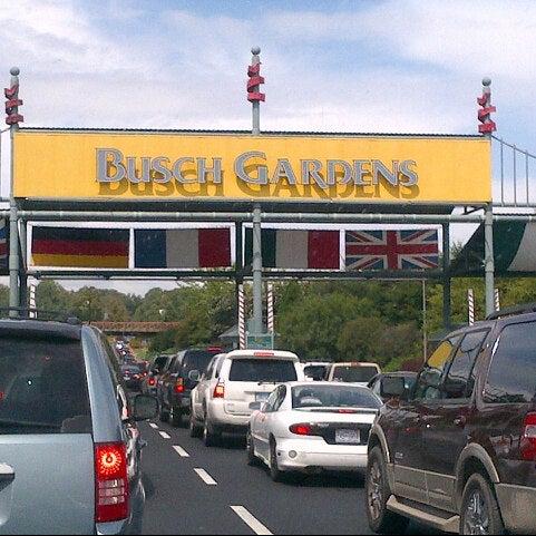 Photo taken at Busch Gardens Williamsburg by Angelo S. on 8/26/2012