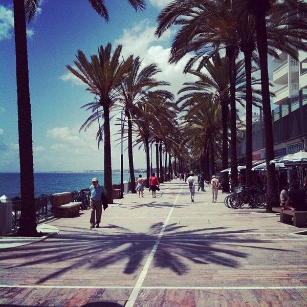 Paseo mar timo marbella beach in marbella - Boardwalk marbella ...