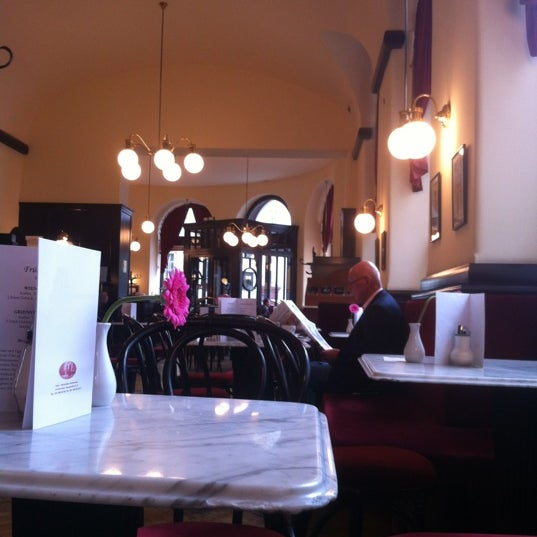 Photo taken at Cafe-Restaurant Griensteidl by Josef T. on 6/2/2012