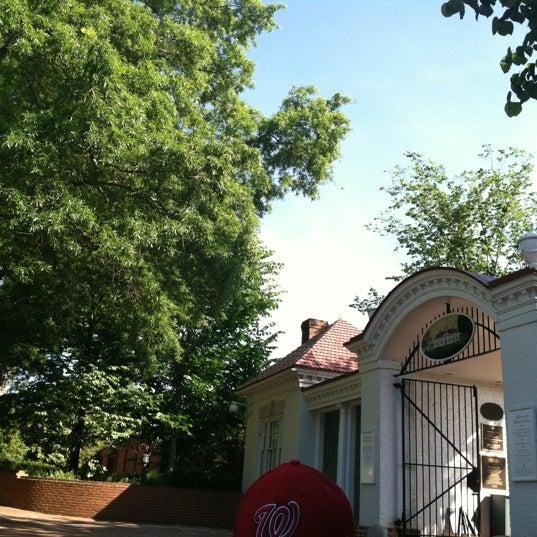 Photo taken at George Washington's Mount Vernon Estate, Museum & Gardens by Liz M. on 5/19/2012