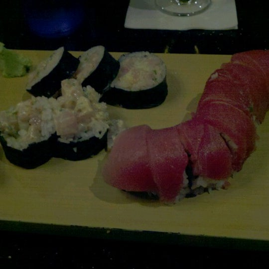 Photo taken at Wasabi Steakhouse & Sushi Bar by Chris M. on 9/1/2012
