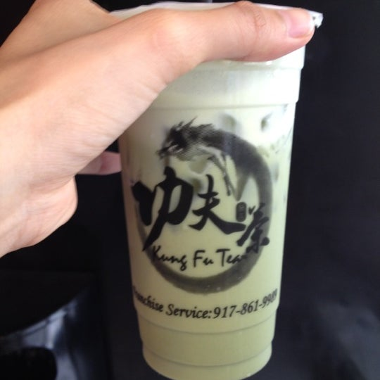 Photo taken at Kung Fu Tea 功夫茶 by Amy W. on 7/14/2012