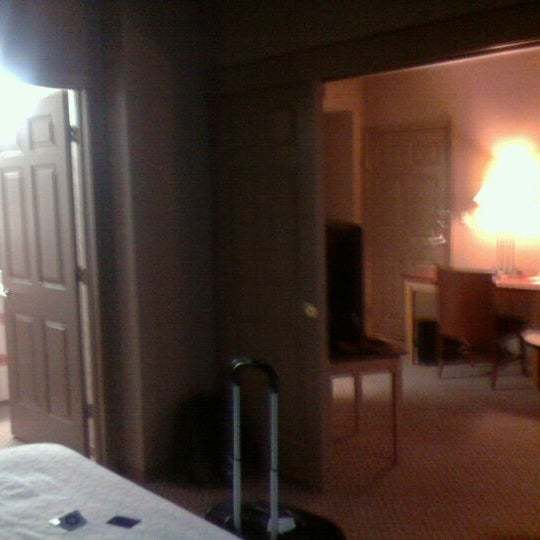 Photo taken at Sheraton Suites Houston Near The Galleria by Wes S. on 3/9/2012