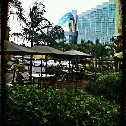 Photo taken at Boma Hotel by Tahina R. on 3/24/2012