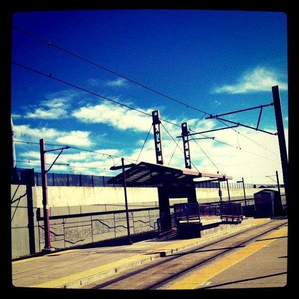 University Of Denver Light Rail Station