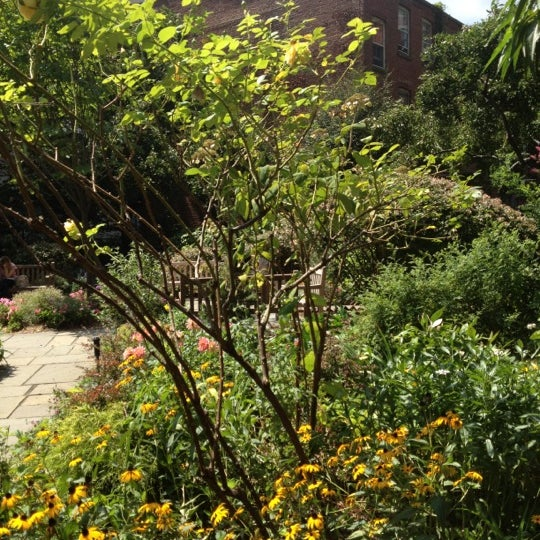 Photo taken at The Garden at St. Luke in the Fields by Jennifer on 8/16/2012