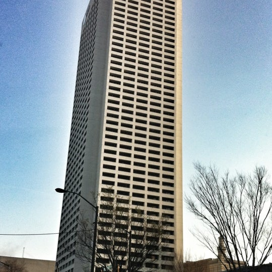 Photo taken at AT&T Tower by Moustafa G. on 3/8/2012