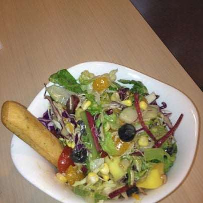 Photo taken at SaladStop! by Stephany C. on 7/22/2012