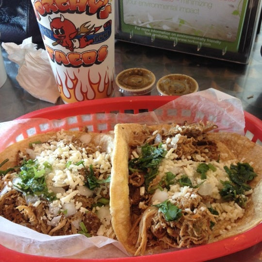 Photo taken at Torchy's Tacos by Callie O. on 7/30/2012