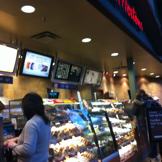 Photo taken at Tim Hortons by Jason W. on 3/12/2012