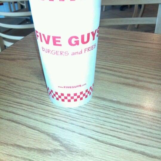 Photo taken at Five Guys by Matt H. on 4/15/2012