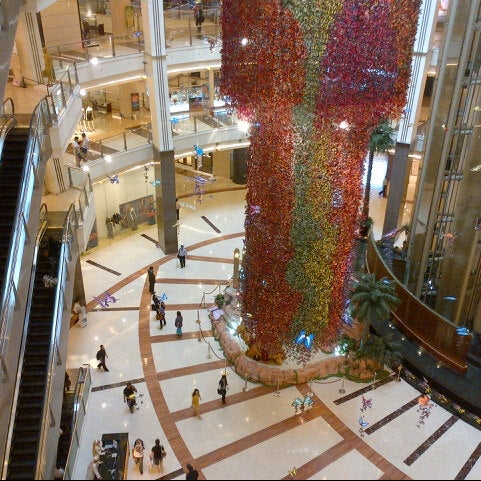 Photo taken at Pacific Place by Roy T. on 8/6/2012