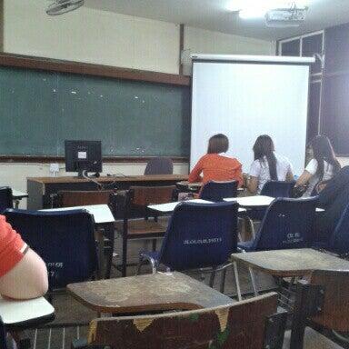 Photo taken at Chiang Mai Rajabhat University by Paveena N. on 7/9/2012