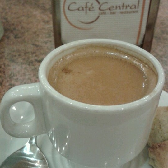 Photo taken at Café Central by Cristobal O. on 6/16/2012
