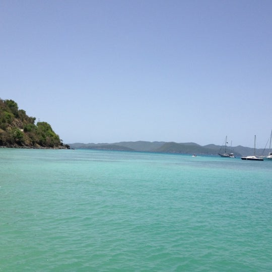 Photo taken at Jost Van Dyke Island by Rebecca H. on 8/2/2012